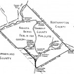 Map of Augusta Township, Berks County