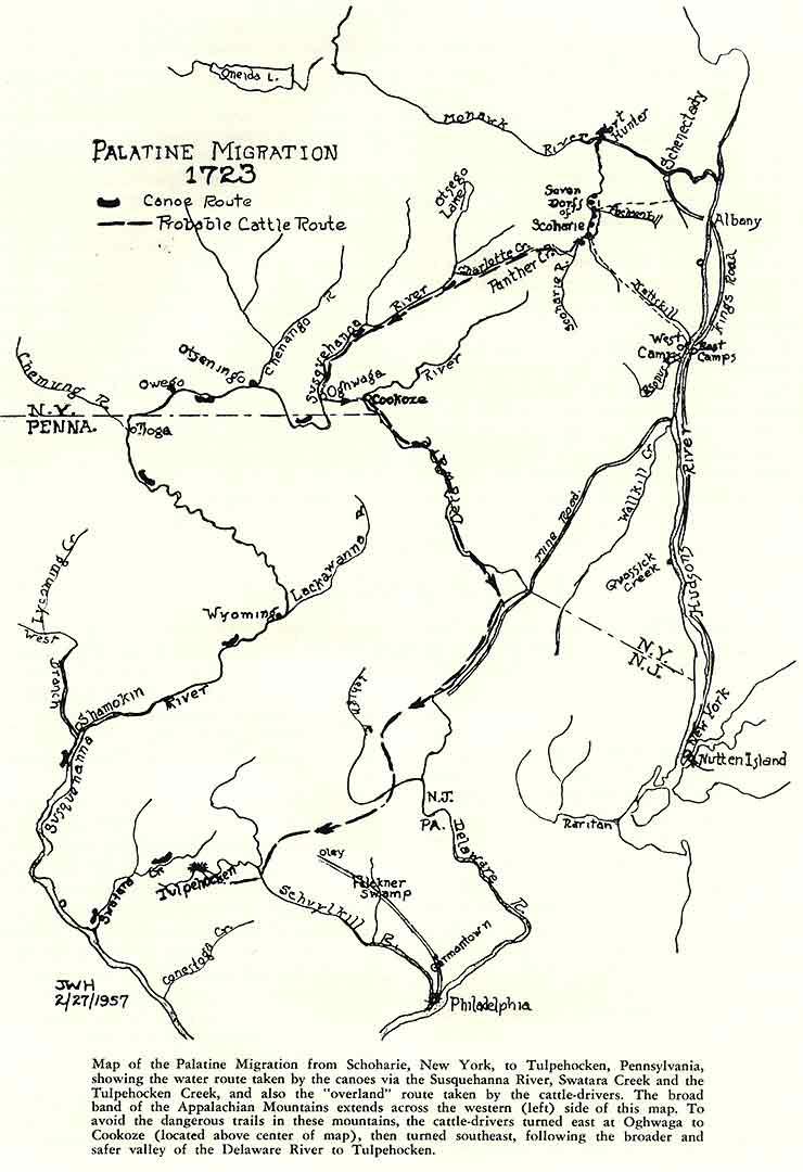 The Palatine Migration 1723 Berks History Center